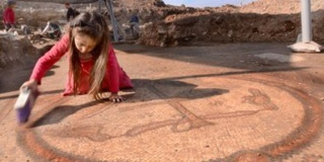 LOOK: Ancient Christian Church With Stunning Mosaic Unearthed | Ancient Religion & Spirituality | Scoop.it