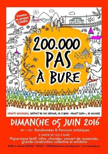 Mobilisation le 5 juin contre l'enfouissement des déchets nucléaires à Bure | Sale temps pour la planète | Scoop.it