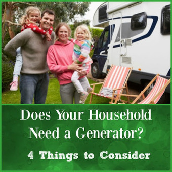 Home and Family Products: Does Your Household Need a Generator? 4 Things to Consider | Homemaking | Scoop.it