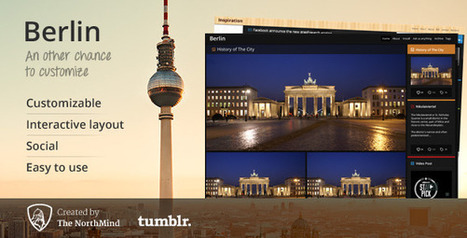 Berlin Tumblr Theme Download | Tumblr Templates Download | Scoop.it