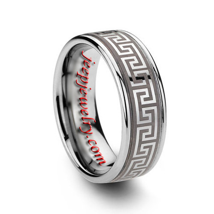 Wholesale 6MM OR 8MM CELTIC WEDDING RINGS ENGRAVED TUNGSTEN CARBIDE - $ 7.30 : Tungsten Rings Tungsten Jewelry | How to choose an ideal jewelry for your lover | Scoop.it