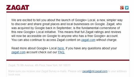 Google+ mise sur le local pour rebondir - Le Figaro (Blog)   Raconter l'info locale demain, et en vivre   Scoop.it