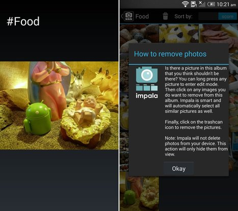 Impala for Android recognizes your pics and automatically sorts them into categories | Education Technology | Scoop.it