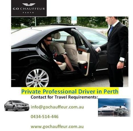 Private Professional Driver in perth | gochauffeurs | Scoop.it