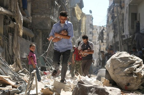 We live in Aleppo. Here's how we survive. | Rights & Liberties | Scoop.it