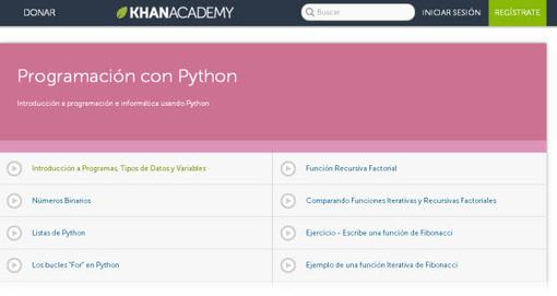 Khan Academy en español: más de dos mil tutoriales, ejercicios, herramientas docentes y más