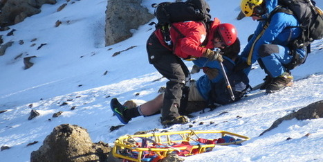 German backpacker survives icy fall on Mt Tongariro - National - NZ Herald News | Gt Barrier Island and Tongariro National Park | Scoop.it