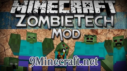 ZombieTech Mod 1.4.7 - Minecraft Mods 1.7.2 1.6.4 | Minecraft Modded Version | Scoop.it