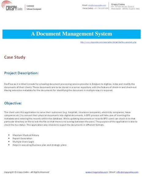 A Document Management System   CrispyCodes   Scoop.it