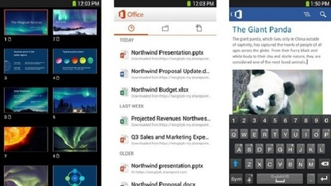 Office for iPhone and Android Phones is Now Free for Home Use | WebSpydr | Scoop.it