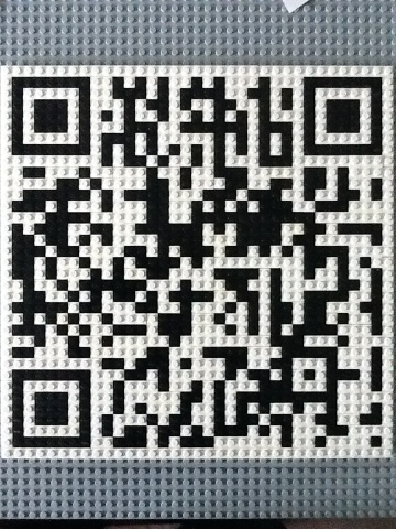 » Student Makes QR Code With Lego Bricks | School Librarianship | Scoop.it