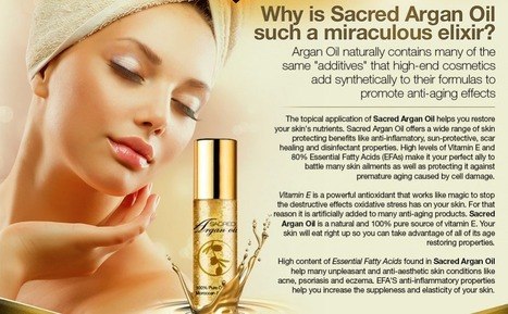 Sacred Argan Oil Reviews – Get Free Trial (Available)   CAN I USE Sacred Argan Oil   Scoop.it