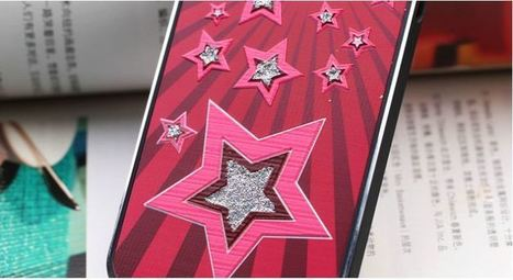 Pink crystal bling star iPhone 5 case | Apple iPhone and iPad news | Scoop.it