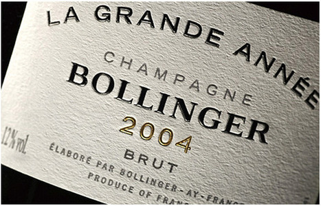 Bollinger 2004 « La Grande Année » Brut - Aÿ, Champagne, France | Chérie Du Vin♥ - Weekly Wine Gossip  *News*Tips*Pairings | Scoop.it