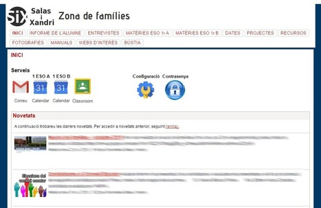 Usuarios para familias en un dominio Google apps for education - Tecnocentres | TIC en el aula | Scoop.it