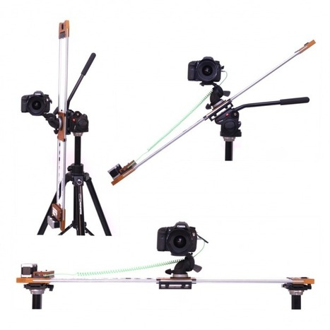 Fusion Between Art and Technology: Sincrocam Robotized 2 Axis Panoramic Slider For Video And Time-Lapse | HDSLR | Scoop.it