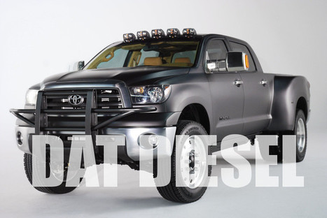 Toyota Tundra Could Get Either Cummins Diesel Or Hybrid; Why Not Both? | Toyota Tacoma | Scoop.it