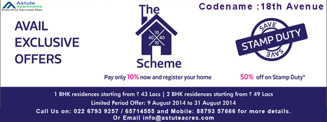 Avail Exclusive Offer on Codename: 18th Avenue Lodha Palvas High street City | Rea Estate | Scoop.it
