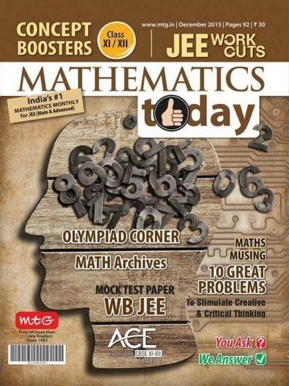 Mathematics Today - December 2015 | Free eBooks Download | Scoop.it