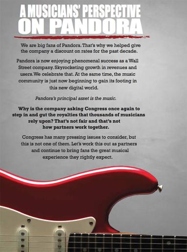 Musique : Pandora boxe les artistes- Ecrans | Industrie musicale | Scoop.it