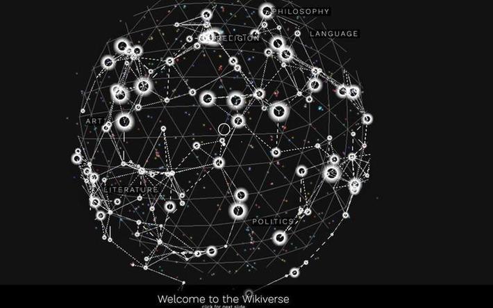 Ενας μουσικός γαλαξίας φτιαγμένος από τυχαία λήμματα της Wikipedia | Η Πληροφορική σήμερα! | Scoop.it