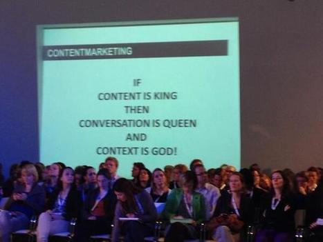 #congrescm13:  Niet je product maar je verhaal, blog van Henk Hofman | Congres Contentmarketing & Webredactie Entopic | Scoop.it