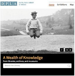 DPLA Launches, Librarians Respond | What Moves Us @ Curry Library | Scoop.it