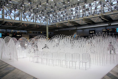 nendo's snow-capped mountain installation at stockholm furniture fair | Digital-News on Scoop.it today | Scoop.it