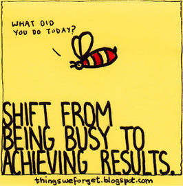 Shift from being busy to achieving results. | Innovatus | Scoop.it