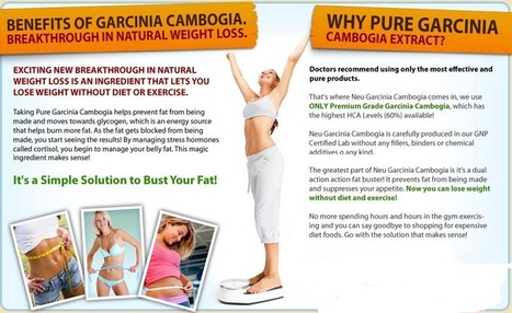 Neu Garcinia Cambogia -Absolutely 100% Risk Free Trial Available Here !! | Buy Now Neu Garcinia Cambogia | Scoop.it