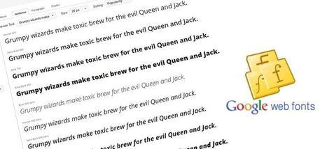 Google Web Fonts - Come integrarlo nelle pagine web   Web side   Consigli pratici per un migliore web design   Scoop.it