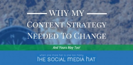 Why My Content Strategy Needed to Change, and Yours May Too | Digital Brand Marketing | Scoop.it