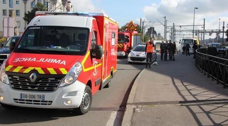 Quimper. Le conducteur d'une petite moto blessé rue Jacques-Cartier - Ouest-France | Accident deux roues motorisés | Scoop.it