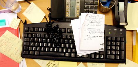 Le désordre, signe de créativité au travail | psychologie | Scoop.it