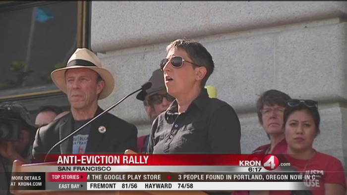 Demonstrators rally outside SF City Hall for Tenants' Rights | Legislation + Eviction Law News | Scoop.it