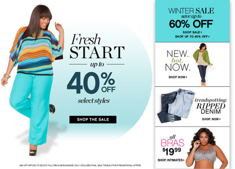 Ashley Stewart Women's Plus Size Clothing, Denim, Bras, Fashion Dresses - Plus Sizes 12-26 | plus size swimwear | Scoop.it