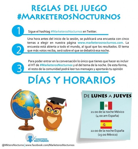 "#MarketerosNocturnos el ""FreshMarketing"" del Búho 