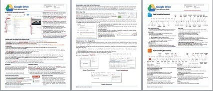 Google Drive - Quick reference guide for teachers and students | The 21st century classroom | Scoop.it
