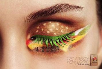 Enjoy a Lovely Eye Burger at Burger King Today | Kitsch | Scoop.it