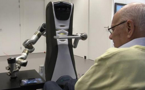Supporting the elderly: A caring robot with 'emotions' and memory | Amazing Science | Scoop.it