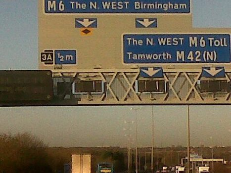 #Econ1 M6 Toll Road is an example of a Quasi Public good. | Markets and Market Failure | Scoop.it