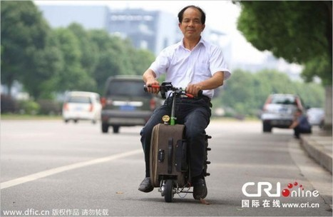 Who Needs a Car When You Have a Drivable Suitcase? | Strange days indeed... | Scoop.it