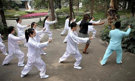 First Lady Joins Chinese Tai Chi Class - NBCNews.com | Tai Chi | Scoop.it
