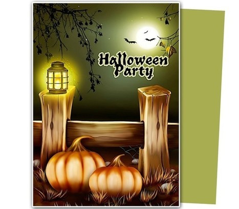 Give a Scary Invite to Your Friends this Halloween Eve! | Ready Made Celebration Templates | Scoop.it