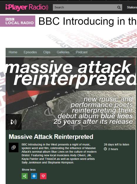 Massive Attack Reinterpreted, BBC Introducing in the West - BBC Local Radio | Jilk | Scoop.it