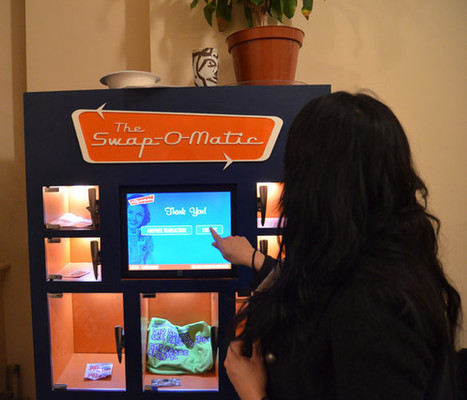 The Swap-O-Matic: A Vending Machine Based On The Barter Economy | Transition Culture | Scoop.it