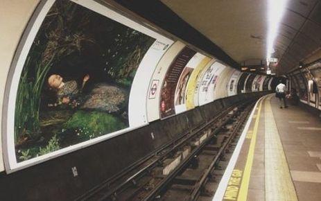 EN IMAGES. Londres remplace ses publicités par des œuvres d'art - Le Parisien | Réinventer les musées | Scoop.it