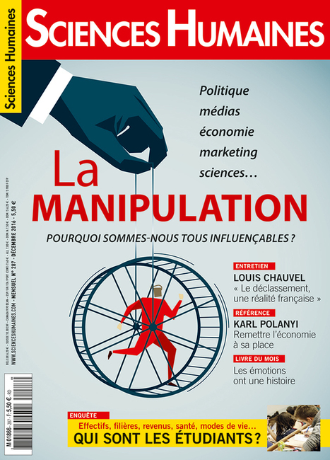 Sciences humaines n°287 décembre 2016 | La presse au CDI du lycée | Scoop.it