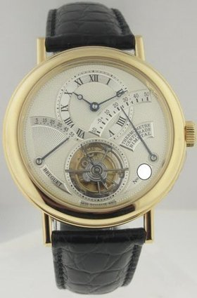 Breguet 3760BA Tourbillon with Thermometer, Yellow Gold | Watches | Scoop.it