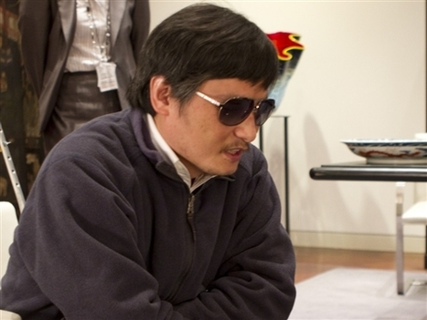 Behind The Wall - Blind Chinese activist Chen set to leave for US   Human Rights Activists   Scoop.it